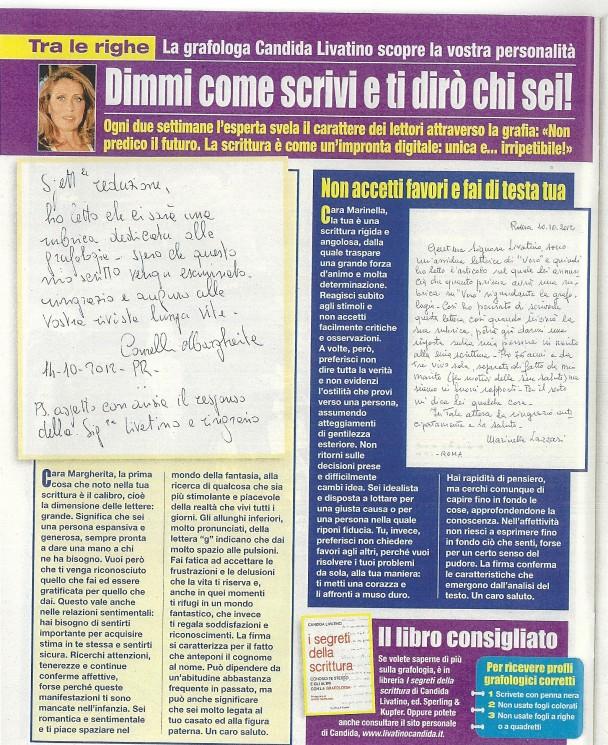 Vero - Gennaio 2013 - Candida Livatino